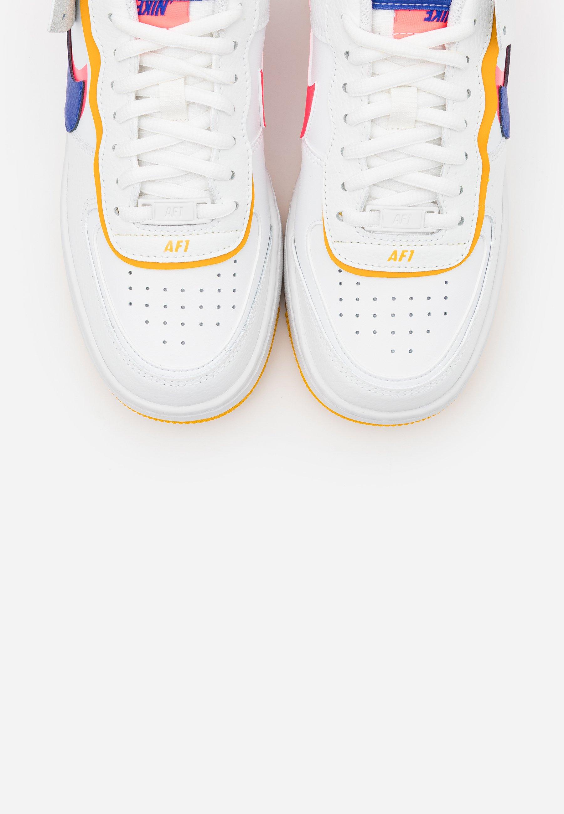 Nike Sportswear AIR FORCE 1 SHADOW - Baskets basses - summit white/astronomy blue/flash crimson/dark sulfur/summit white