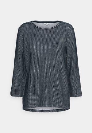 CREW NECK - Sweatshirt - navy/white