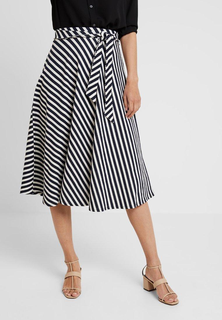 edc by Esprit - MIDI SKIRT - A-line skirt - navy