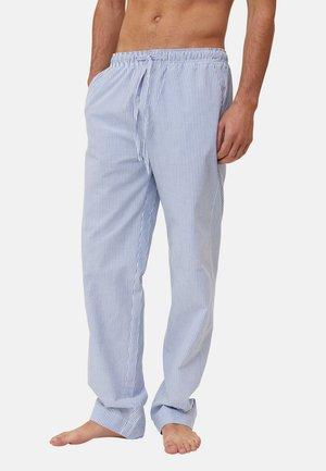 Pyjamahousut/-shortsit - lightt blue/white