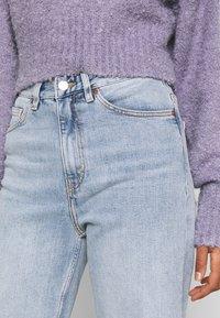 Monki - ZAMI - Straight leg jeans - blue dusty light unique beach blue - 3