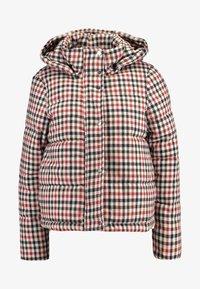 ONLY - ONLSTINA CHECK SHORT JACKET - Winter jacket - moonbeam/ketchup - 4