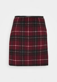 New Look - DUDLEY BRUSHED CHECK MINI - A-line skirt - multi - 5