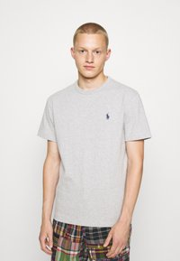 Polo Ralph Lauren - CLASSIC FIT JERSEY T-SHIRT - Basic T-shirt - andover heather - 0