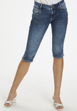 DHMALIKA - Shorts di jeans - medium blue wash