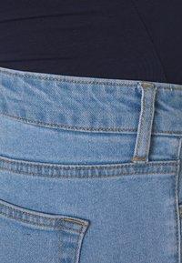 MAIAMAE - STRAIGHT LEG CROP - Straight leg jeans - blue - 2