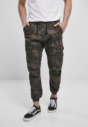 RAY VINTAGE - Pantaloni cargo - dark camo