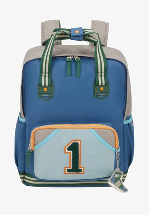 SCHOOL SPIRIT  - School bag - mottled dark blue