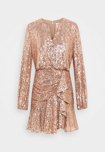 ANDREA FLIPPY MINI DRESS