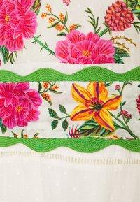 Farm Rio - TOUCANS GARDEN DRESS - Maxi dress - off-white - 2