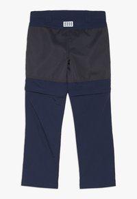 LEGO Wear - WEATHER PANTS - Outdoorové kalhoty - dark navy - 1