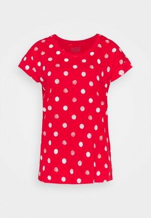 CORE - Print T-shirt - red