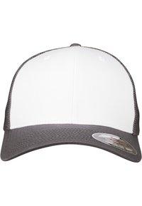 Flexfit - Cap - darkgrey and white - 3