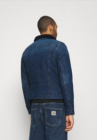 G-Star - 3301 SLIM - Veste en jean - denim medium aged - 2