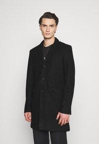 Only & Sons - ONSJULIAN STAR COAT - Classic coat - black - 0