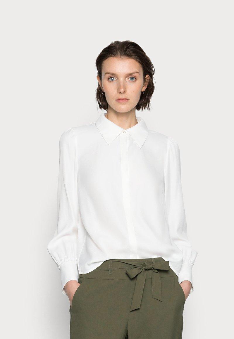 Cream - VICKY - Button-down blouse - snow white