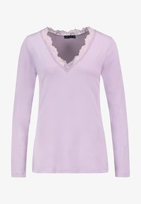 Fresh Made - LONG SLEEVE - Long sleeved top - light purple - 0