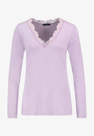LONG SLEEVE - Long sleeved top - light purple