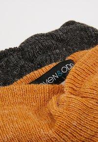 Even&Odd - 2 PACK - Ear warmers - mustard/black - 5