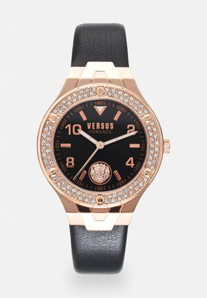 VITTORIA - Hodinky - rosegold-coloured/black