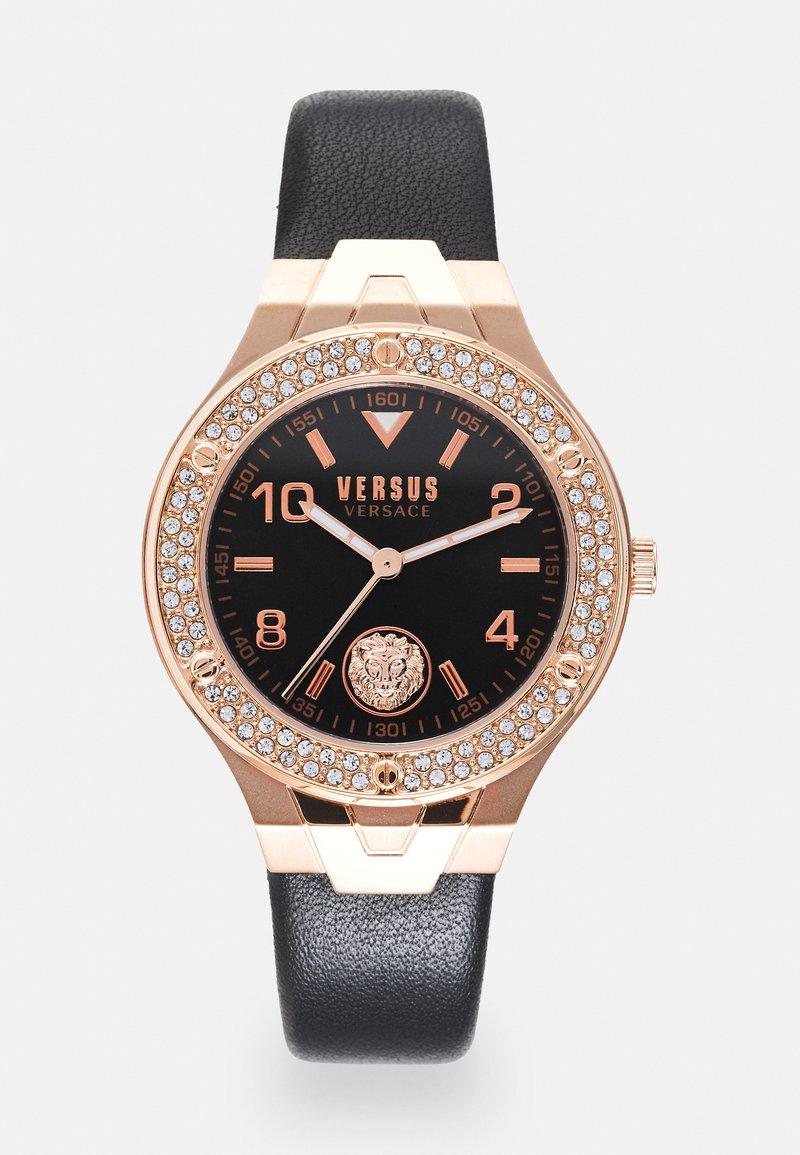 Versus Versace - VITTORIA - Watch - rosegold-coloured/black