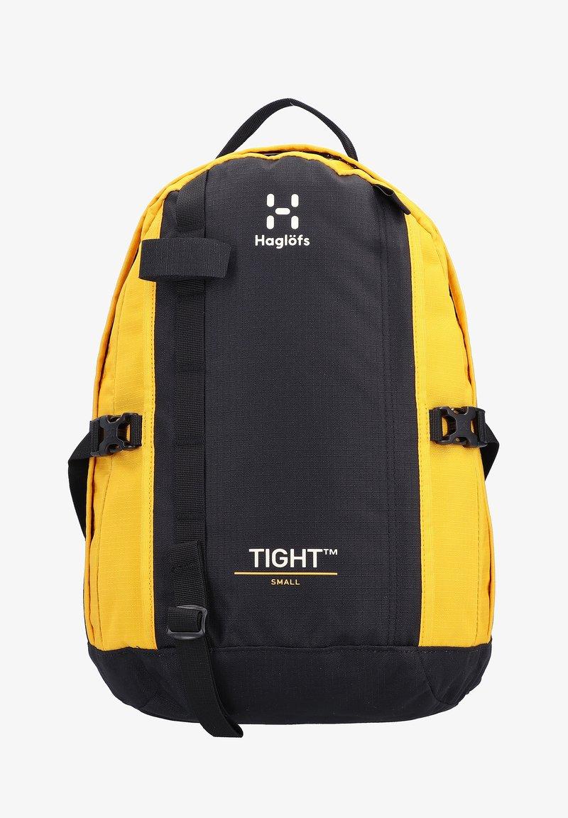 Haglöfs - TIGHT SMALL - Rucksack - true black/pumpkin yellow