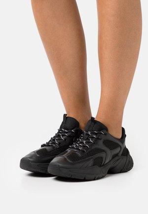 VEGAN JEMINA - Sneakers basse - black dark