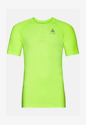 Basic T-shirt - lounge lizard melange