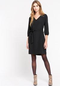 LolaLiza - WITH BELT - Day dress - black - 1