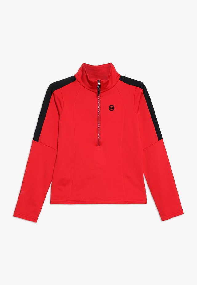 ALEXIS - Fleece jumper - red