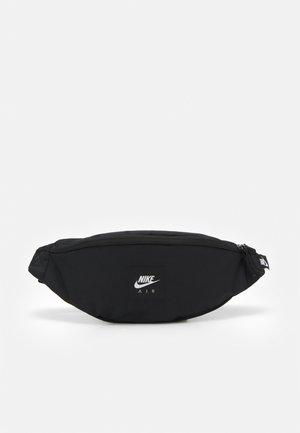 AIR HERITAGE UNISEX - Bum bag - black/black/white