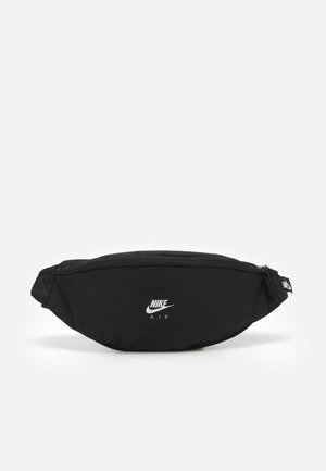 AIR HERITAGE UNISEX - Sac banane - black/black/white
