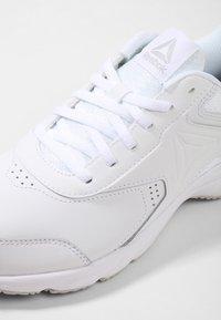 Reebok - WORK N CUSHION 3.0 - Neutral running shoes - white/steel - 5