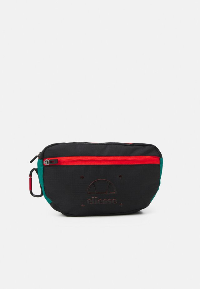 CHAMOIS BUM BAG UNISEX - Sac banane - black