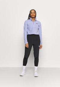 The North Face - GLACIER CROPPED ZIP - Fleece jumper - sweet lavender - 1