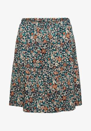 FASHION  - A-line skirt - navy