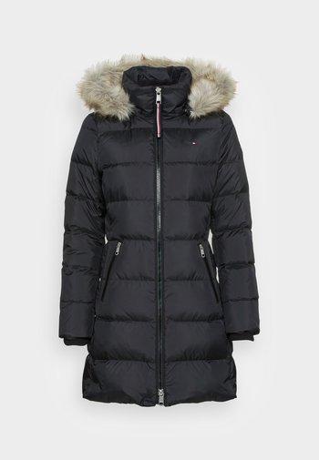 BAFFLE COAT - Down coat - black