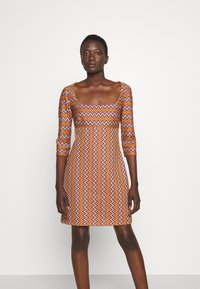M Missoni - Shift dress - pumpkin/giallo/blood/candy - 0