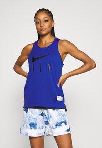 Nike Performance - FLY REVERSIBLE - Funkční triko - hyper royal/black - 0