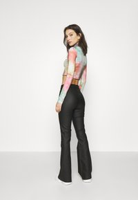Noisy May - NMBILLIE PANTS - Trousers - black - 2