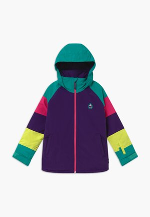 Snowboard jacket - purple/turquois