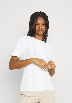 PIPPA - Print T-shirt - star white