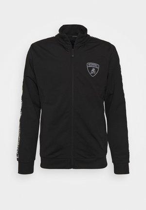MAN LIGHT SWEATER - Zip-up sweatshirt - nero
