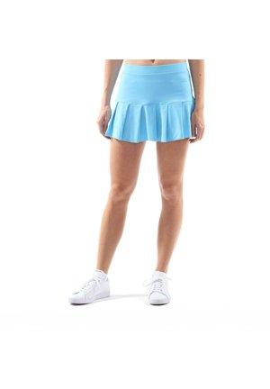 FALTEN - Sports skirt - hellblau