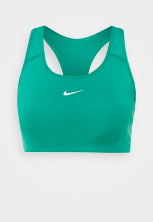 BRA - Medium support sports bra - neptune green/white