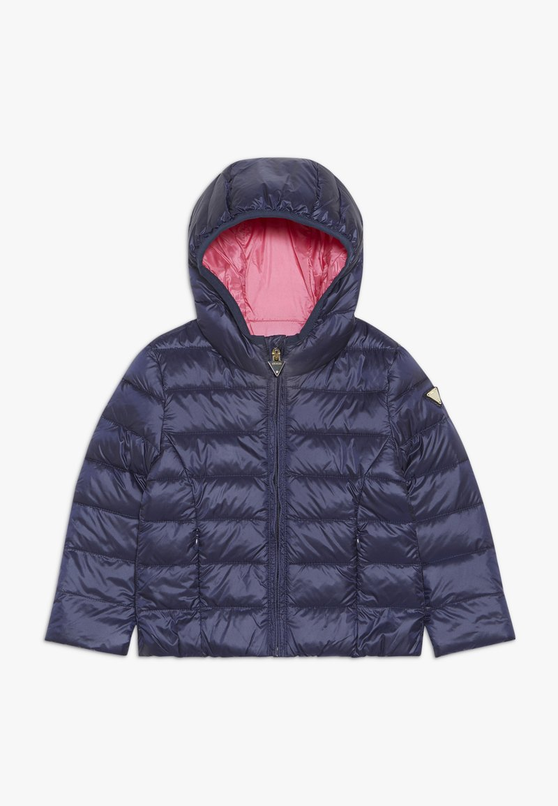 Guess - OUTWEAR TODDLER CORE - Bunda z prachového peří - fancy blue