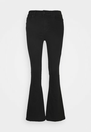 RAVAL - Flared Jeans - always black