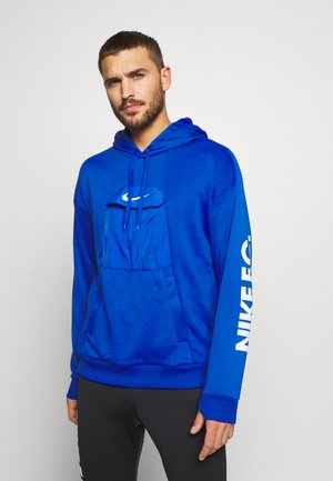 HOODIE - Sweat à capuche - game royal/white