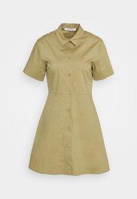 Samsøe Samsøe - BARBARA SHORT DRESS - Shirt dress - olive grey - 4
