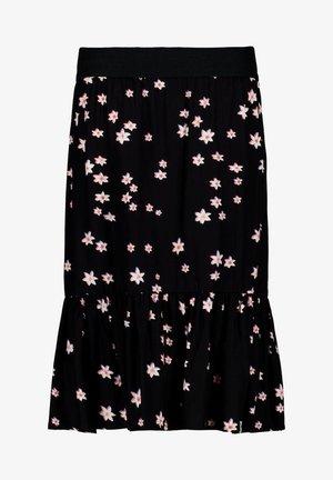 A-line skirt - off black